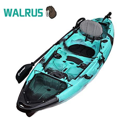 WIN.MAX Winmax Sit on Top Set Kayak con Paddle Combinato, 310x85x34 cm, Alta stabilità sull'acqua