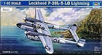 トランペッター 1/32 ロッキード P-38L-5-LO ライトニング プラモデル