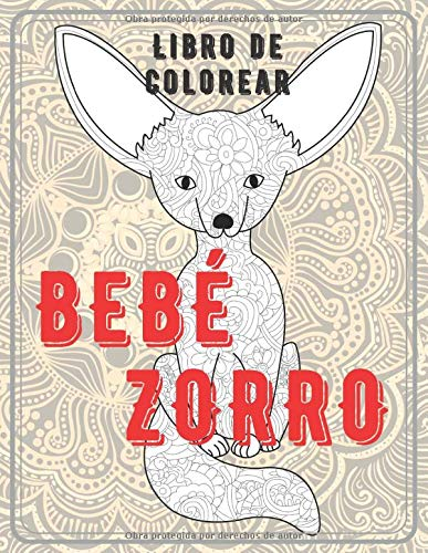 Bebé Zorro - Libro de colorear