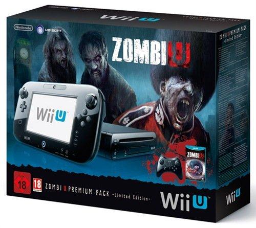 Console Nintendo Wii U 32 Go - 'ZombiU' premium pack [import italien]