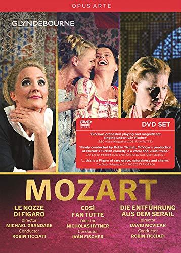 Mozart: Le Nozze Di Figaro / Die Entführung aus dem Serail / Così fan tutte [5 DVDs]
