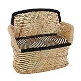 Sofá de jardín de bambú para 2 Personas - Banco de jardín Bambon