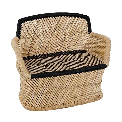 Bambus-Gartensofa für 2 Personen - Gartenbank Bambon