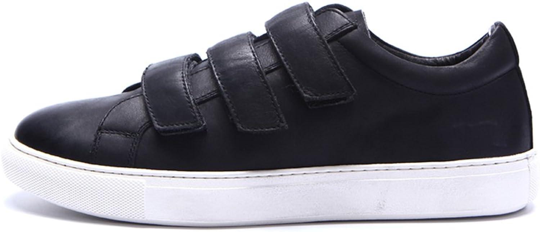 WLJSLLZYQ Leisure shoes Fashion Casual Men's Velcro Sports Leisure shoes