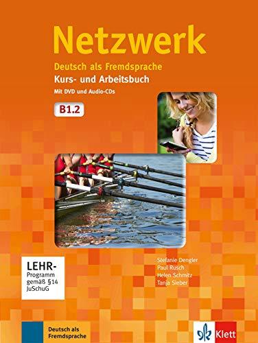 Netzwerk b1, libro del alumno y libro de ejercicios, parte 2 + cd + dvd: Kurs- und Arbeitsbuch B1 - Teil 2 mit 2 Audio CDs und