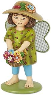 Studio M ME902 Lily The Flower Fairy Garden Miniatures Set, Blue