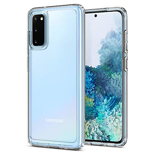 Spigen Ultra Hybrid Works with Samsung Galaxy S20 Case (2020) - Crystal Clear