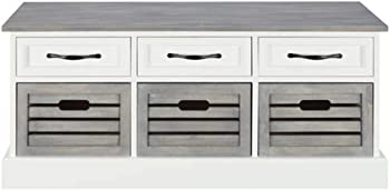 Coaster 501196 CO-501196 Storage Bench with Drawers