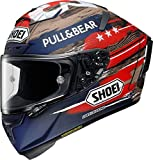 Shoei X-Spirit III Marquez America Limited Edition TC-2 - Casco de carreras (talla L)