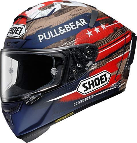 Shoei X-Spirit III Marquez America Limited Edition TC-2 Motorradhelm Racing Helm, M