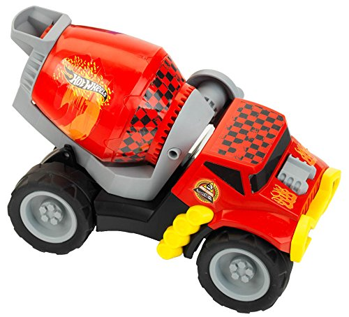 Theo Klein 2447 Hot Wheels Betonmischer, Maßstab 1:24, Spielzeug