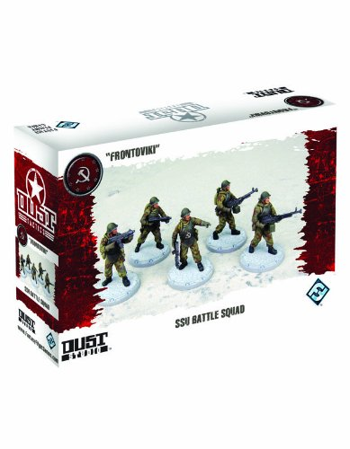 Dust Tactics: Ssu Nkvd Battle Squad Miniatures
