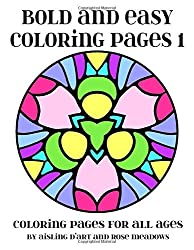 bold and easy coloring pages