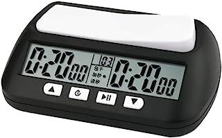 WANGFUFU Chess Clock Digital Watch Count Up Down Timer Board Game Stopwatch Hour Meter