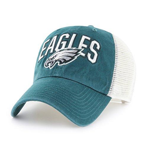 OTS NFL Philadelphia Eagles Men's Decry Challenger Adjustable Hat, Team Color, One Size