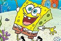 面白い 木製スポンジボブ300/500/1000ワンピース漫画アニメアダルト解凍子供の教育玩具パズル 拼图 (Color : A, Size : 1000pcs)