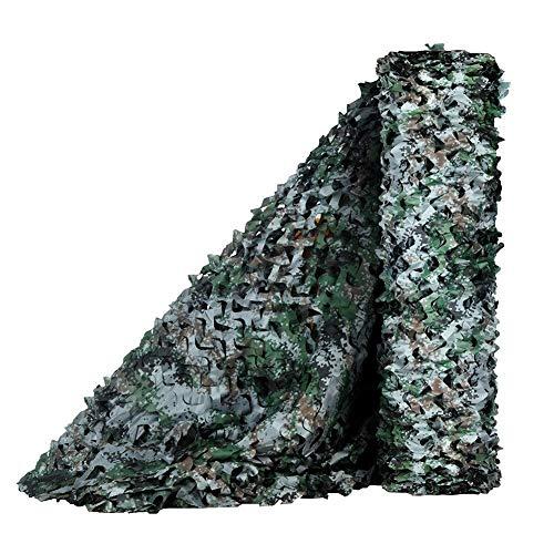ZXL lampenkap Jungle Camouflage Net Sun Block ademende decoratie voor tuin Outdoor duurzaam grootte Multiple grootte 3 x 6 m 6x8m