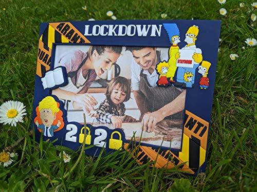 Lockdown Photo Frame, Picture Frame, Birthday Gift, Anniversary Gift, Quarantine, Present, 3D Photo Frame, Memory Frame,