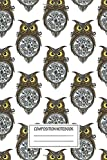 Notebook: Steam Punk Owl , Journal for Writing, Size 6' x 9', 164 Pages