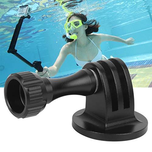 FECAMOS con Dado Base di Installazione in Lega di Alluminio Adattatore per Fotocamera Portatile Adattatore per Action Cam, per telecamere Sportive