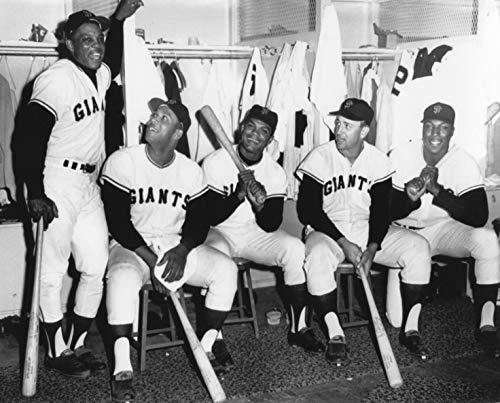 Willie MAYS-Cepeda-Willie McCovey SAN Francisco Giants 8x10 Sports Photo 3XL