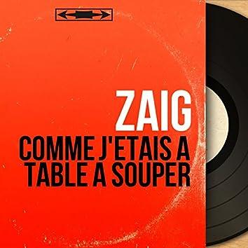Comme j'étais à table à souper (feat. Gérard Pondaven) [Mono Version]