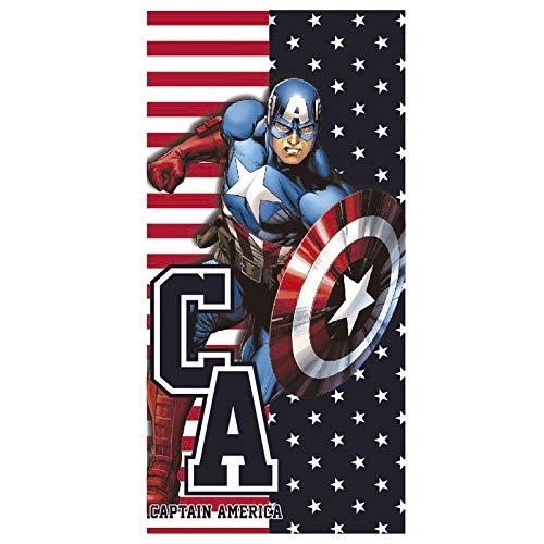 MARVEL - Marvel Captain America microfiber beach towel (1 ACCES)