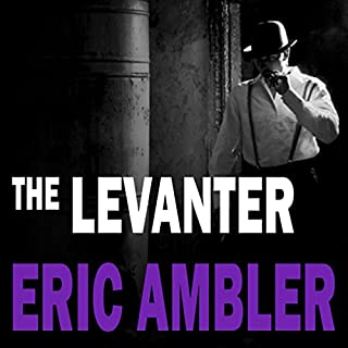 The Levanter audiobook cover art