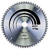 Bosch 2 608 640 436 - Hoja de sierra circular Optiline Wood - 254 x 30 x 2,0 mm, 60 (pack de 1)