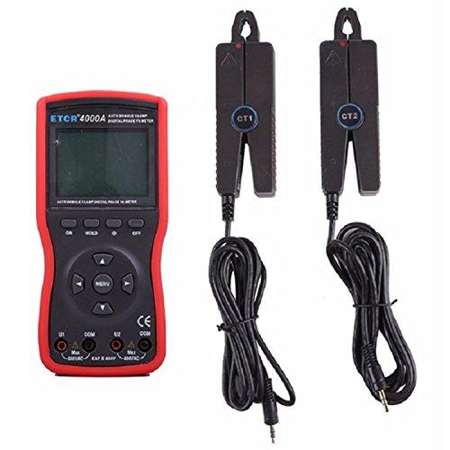 Dhmm123 Digital Doppelklemme/dreiphasig Intelligente Doppelklemme Digital Phase Volt-Ampere Meter ETCR4000A Spezifisch