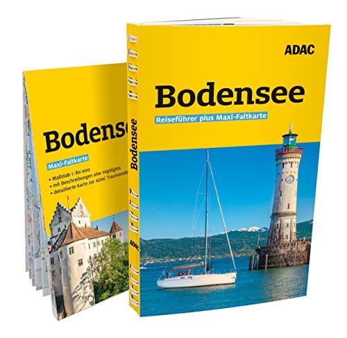 Price comparison product image ADAC Reiseführer plus Bodensee: mit Maxi-Faltkarte zum Herausnehmen
