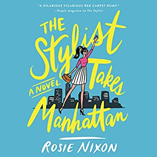 The Stylist Takes Manhattan audiobook cover art
