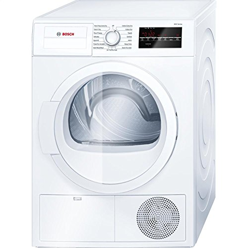 Bosch WTG86400UC300 4.0 Cu. Ft. White Stackable Electric Dryer