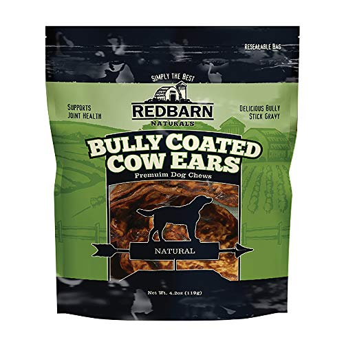 Redbarn Bully Coated Cow Ears 10 Pack