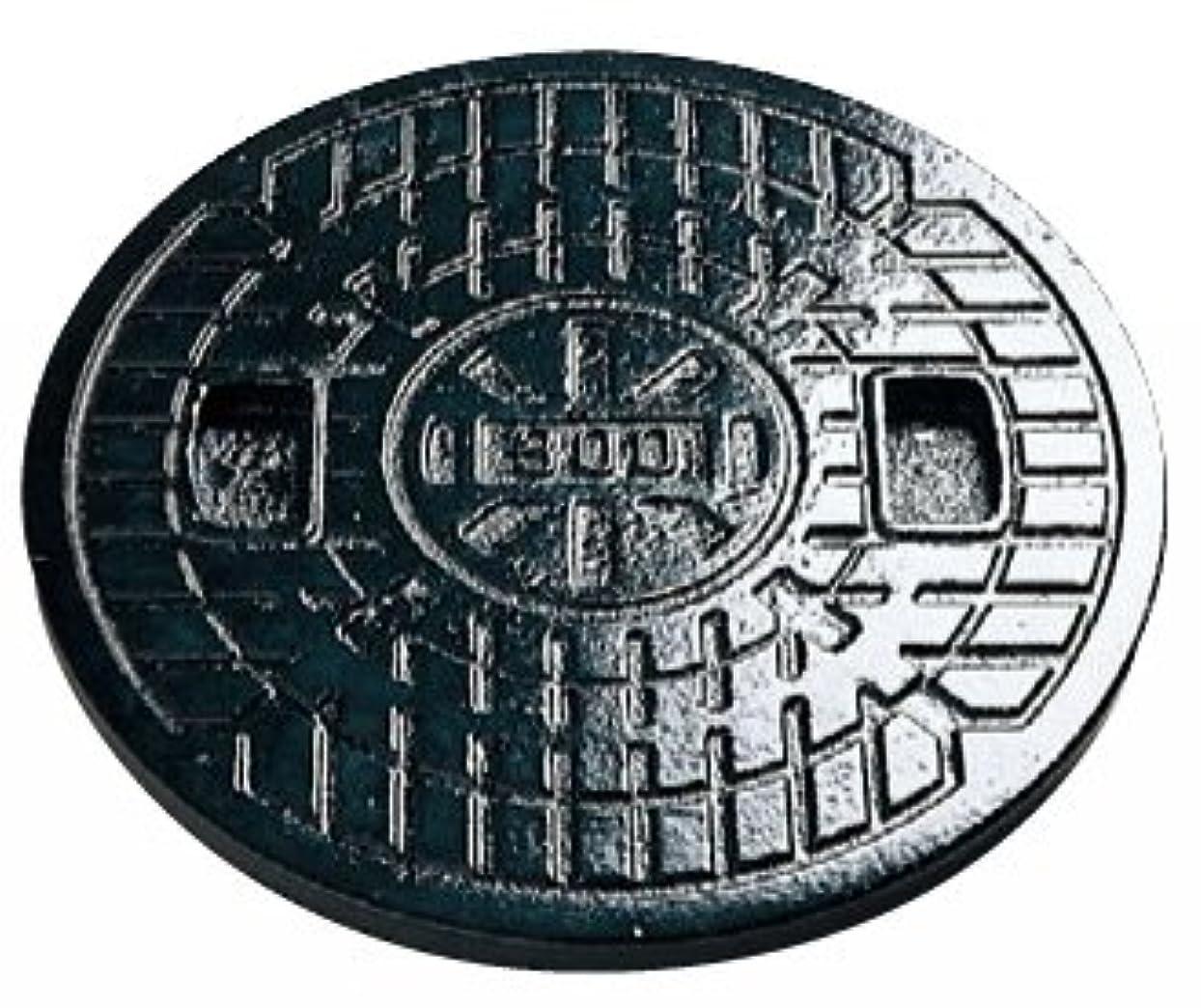 まぶしさギャラントリー理解マンホール 鋳鉄製雨水蓋 300型(直径328mm) F300(穴なし) アロン化成