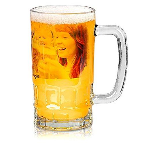 Dkora-T - Jarra de Cerveza cristal personalizada con fotos