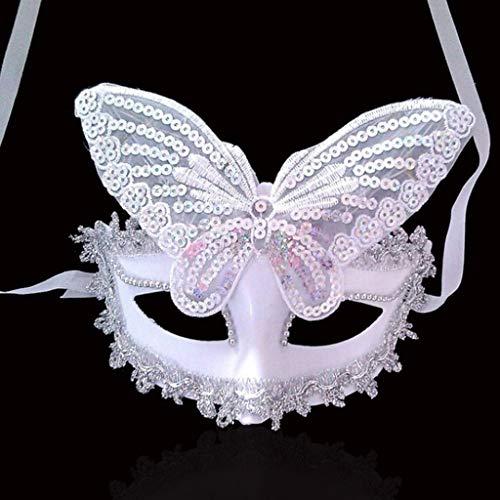 JCCOZ Halloween Maske Beleuchtung, Schreckliche Urlaub Partei Tiere Leuchtende Leucht Cosplay Halloween Maske Requisiten (Color : G)