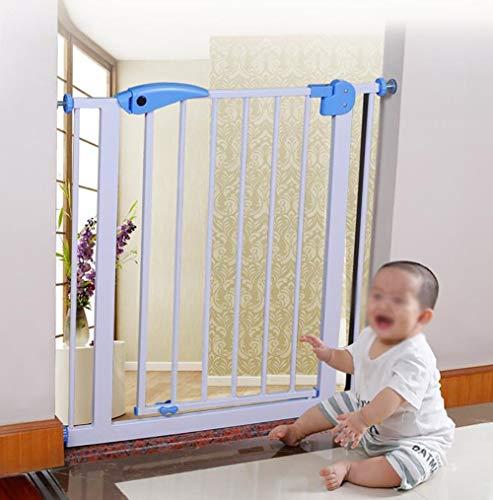 L.TSA Safety Gates Baby Gate avec Porte pour Animaux de Compagnie pour escaliers Baby Play Gate Parc pour clôture Pas Besoin de perforer