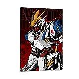 TINGTAI Gundam Barbatos Lupus Rex Poster décoratif sur toile 60 x 90 cm