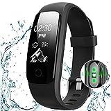 ACTENLY Fitness Tracker, Activity Tracker : Heart Rate Monitor Wireless Bluetooth Smart Wristband Bracelet