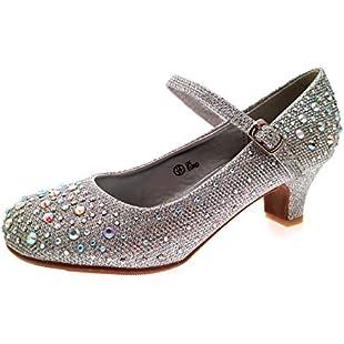 Lora Dora Girls Mary Jane Glitter Party Shoes:Maskedking