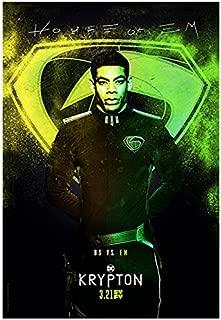 Aaron Pierre 8 inch X 10 inch photograph Krypton (TV Series 2018 - )