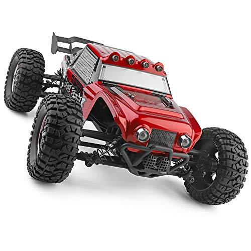 RC Auto kaufen Buggy Bild 3: HAIBOXING Ferngesteuert Auto 2,4 GHz 4WD 1/12 RC Desert Buggy 38 KM/H Hoch Geschwindigkeits Mit 6 LED-Leuchten, Hydraulikdämpfer Wasserdicht RC elektro Lastwagen RTR Hobby-Klasse*