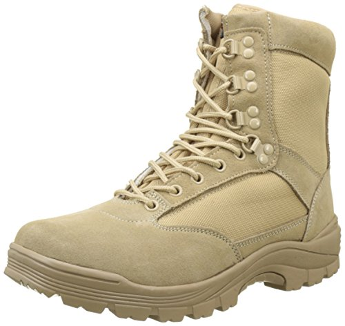 Mil-Tec Tactical Boot mit YKK-Zipper 9 UK / 43 EU,Khaki