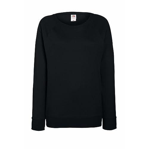 6649f4016f33f Fruit of the Loom Women's Fit Lightweight Raglan Sweatshirt