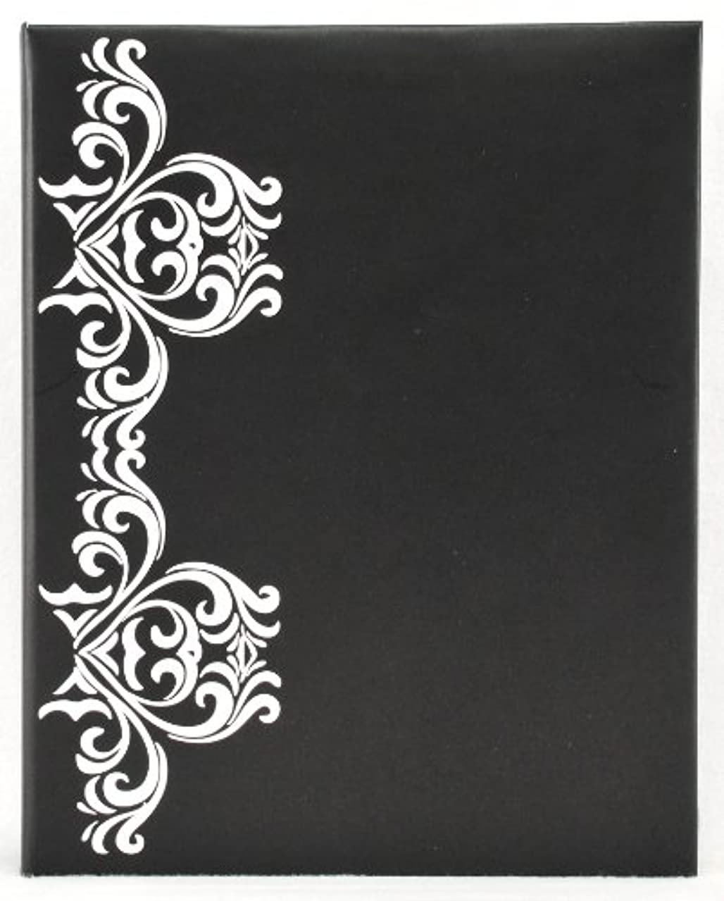 Pinnacle Frame Embellished Photo Album, Black and White