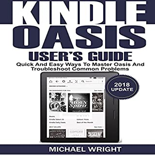 Kindle Oasis User's Guide audiobook cover art