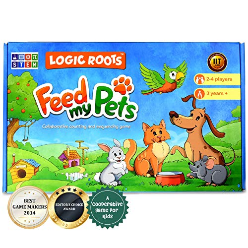 LogicRoots Feed My Pet Math Game