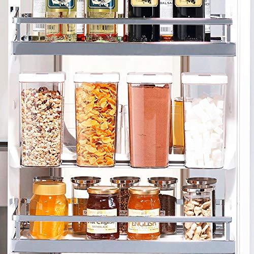 Vorratsdosen Set für Hochschrank Apothekerauszug Apothekerschrank DISPENSA/Zubehör für Nobilia Apothekerschränke von SO-TECH®