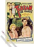 1art1 Tarzan Poster (91x61 cm) Der Furchtlose, 1933
